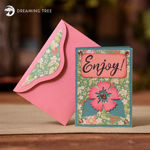 Picture of Greeting & Gift Card Holder (Free SVG)