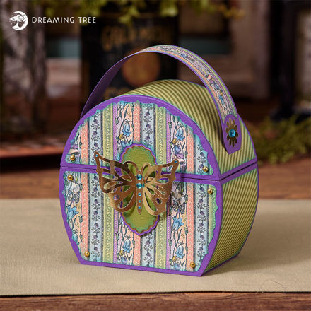 Picture of Butterfly Evening Bag SVG