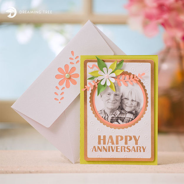 Picture of Anniversary Card SVG