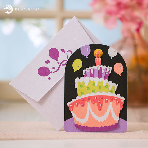 Picture of Birthday Card SVG