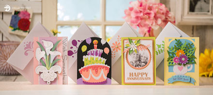 Picture of Quick and Easy Occasion Cards SVG Bundle