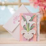 Sympathy Floral Greeting Card