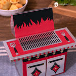 Picture of BBQ Grill Gift Treat Box SVG