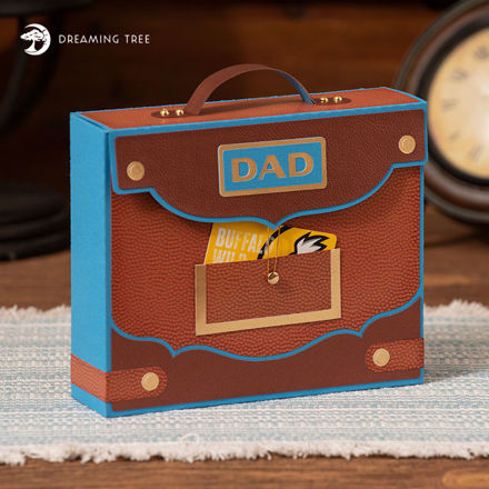 Picture of Briefcase Gift Box SVG