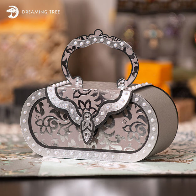 Picture of Silver Evening Bag SVG