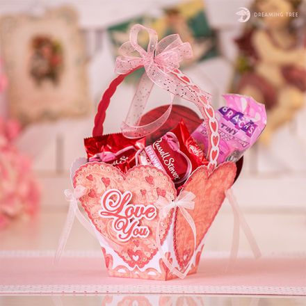 Picture of Sweetheart Basket SVG
