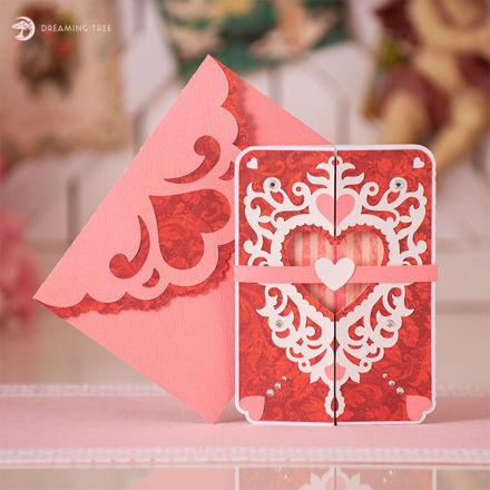 Picture of Valentine Romance Card SVG