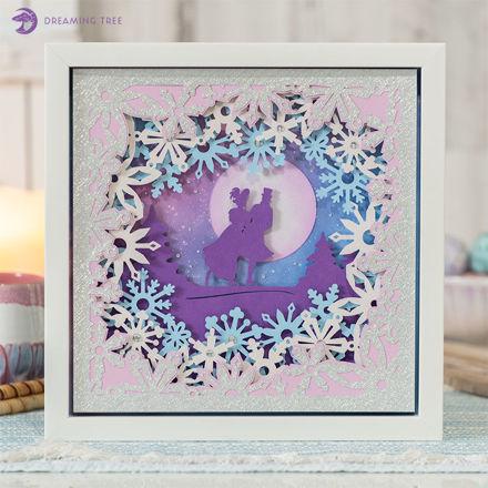 Moonlight Romance Sculpture SVG