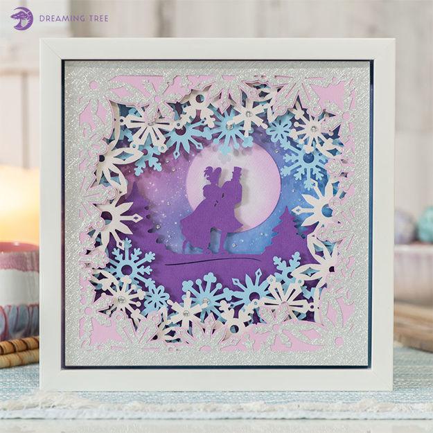 Picture of Moonlight Romance Sculpture SVG