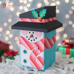 Christmas Snowman Gift Box