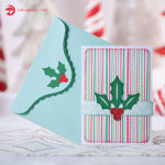 Picture of Holly Jolly Snowman Card SVG