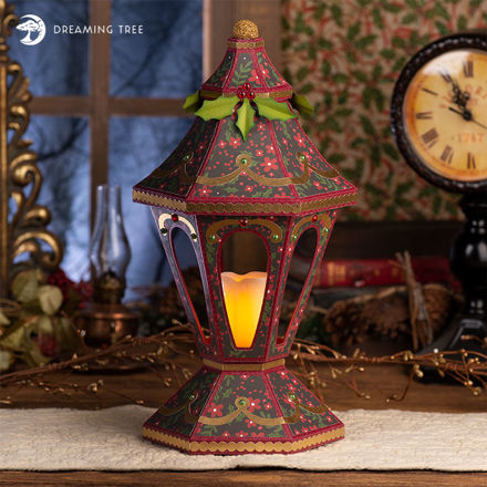 Picture of Victorian Christmas Lantern SVG