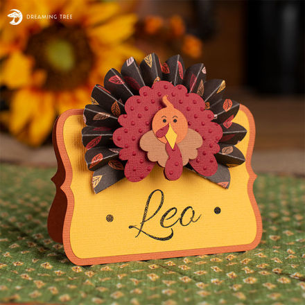 Free Thanksgiving Turkey Place Card