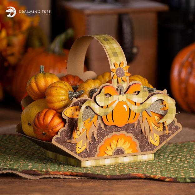 Harvest Basket SVG