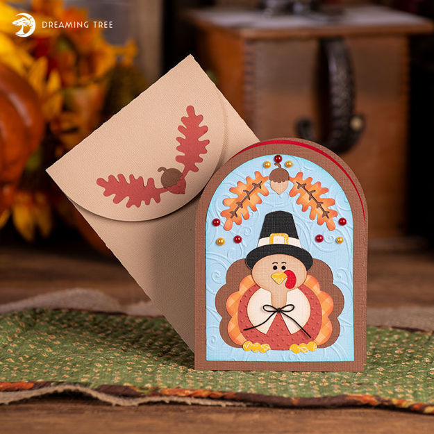 Picture of Give Thanks Card SVG