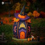 Halloween Hollow Spooky Luminary