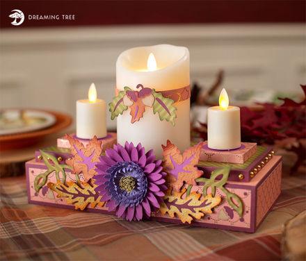 Picture of Autumn Glow Centerpiece SVG