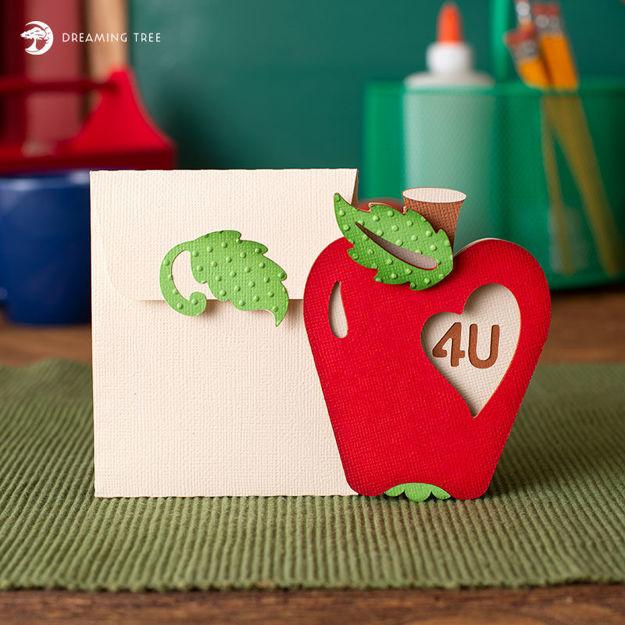 4 U Apple Card (Free SVG)