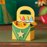 Picture of Crayons Treat Box SVG