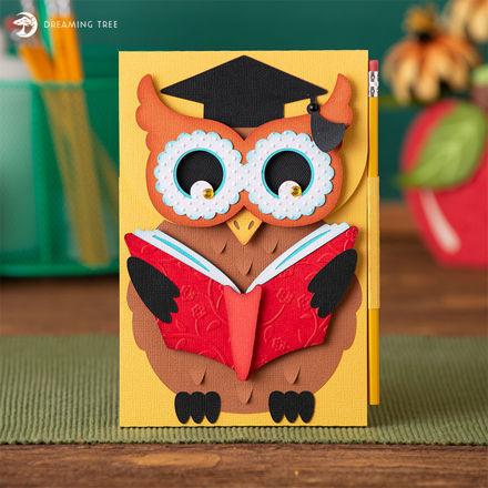 Wise Owl Writing Pad Holder