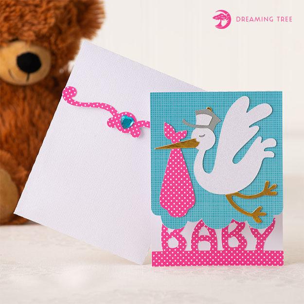Baby Shower Invitation (Free SVG)