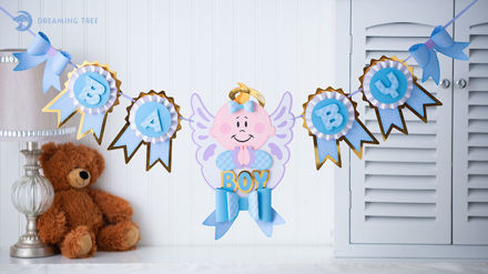 Picture of Baby Banner SVG