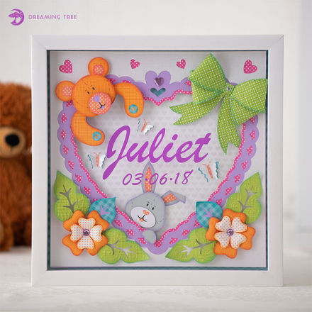Picture of Baby Paper Sculpture SVG