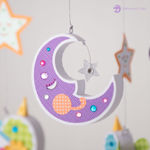 Picture of Nightingale Baby Mobile SVG