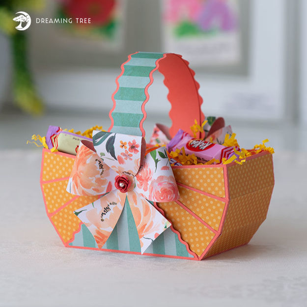 Picture of Bow Basket SVG