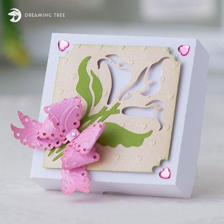 Calla Lily Gift Box SVG