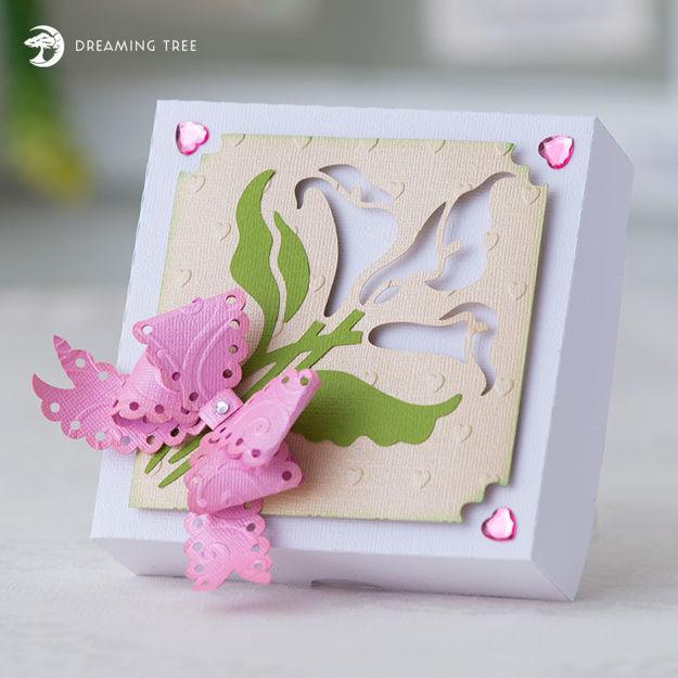 Picture of Calla Lily Gift Box SVG