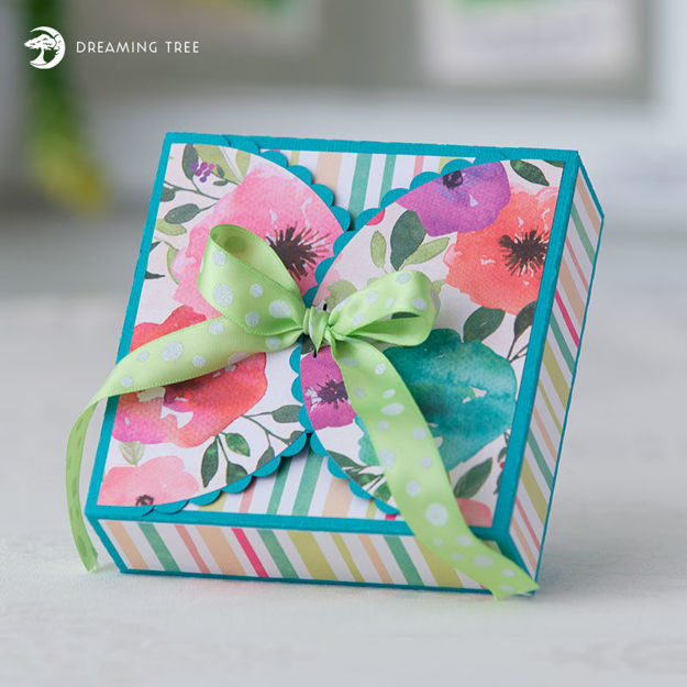 Picture of Flap Top Gift Box SVG