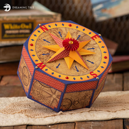 Picture of Compass Gift Box SVG