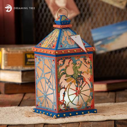 Penny Farthing Lantern SVG