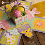 Easter Explosion Box SVG
