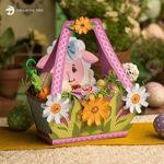 Picture of Little Lamb Easter Basket SVG