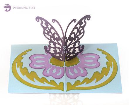 Butterfly Pop Up Card SVG