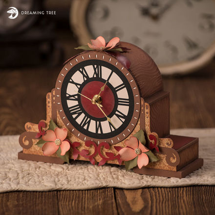 Picture of Dogwood Mantel Clock
