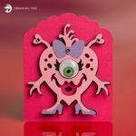 Picture of Mini Monsters Valentine's Cards SVG