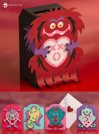 Picture of Love Me A Monster SVG Bundle