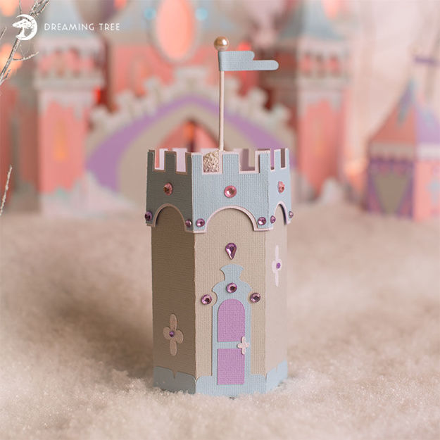 Picture of Watch Tower Favor Box SVG