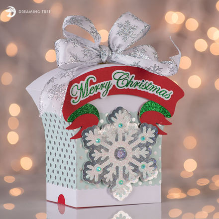Picture of Merry Christmas Gift Box SVG