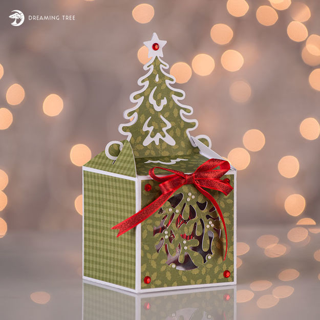 Picture of Tree Ornament Box SVG