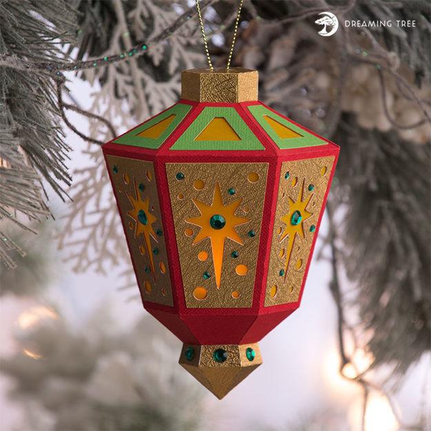 Star Tea Light Ornament SVG