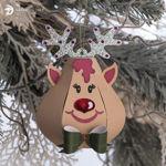 Rudolph Reindeer Christmas Ornament