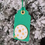 Christmas Gift Tags (Free SVG)