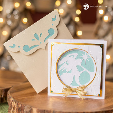 Picture of Glory Greeting Card SVG