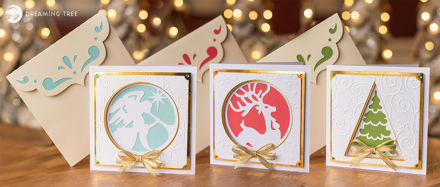 Picture of Christmas Cheer Cards SVG Bundle