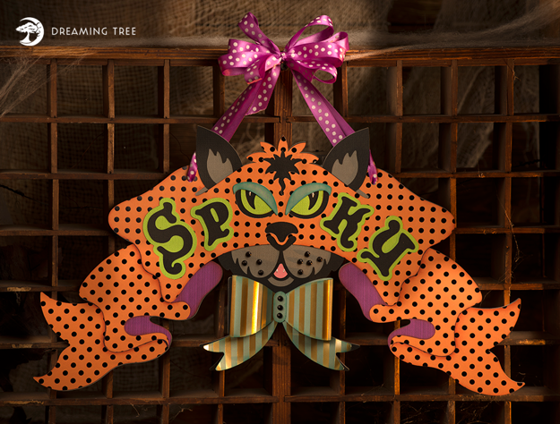 Picture of Spooky Banner SVG