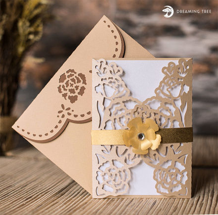 Picture of Ivory Floral Card SVG